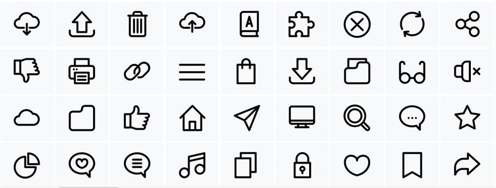Icons UU