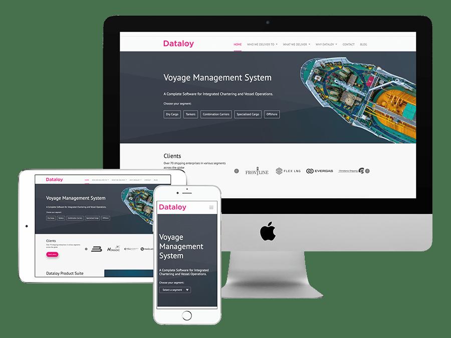 Dataloy responsive design